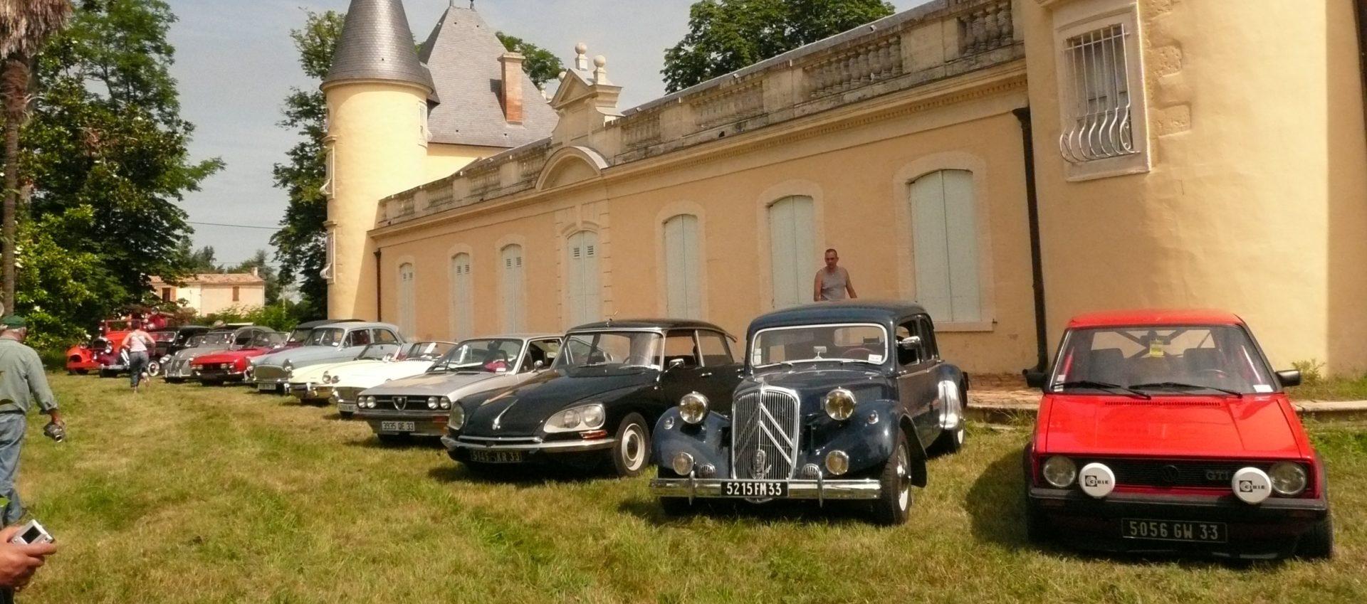 Rassemblements voitures anciennes