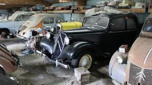 trésor automobiles anciennes