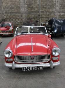 Découvrir une voiture ancienne