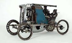 sculptures automobiles