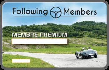 Carte PREMIUM Following-Members