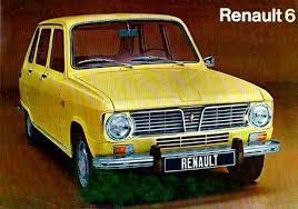 voitures anciennes renault 6
