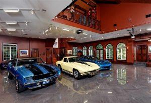 garage voitures anciennes