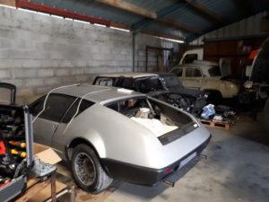 RC AUSTIN Renault Alpine 310