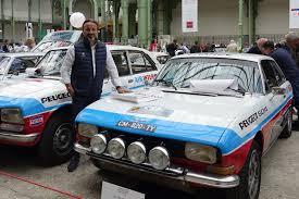 Etienne Bruet de M6 et la Peugeot 504