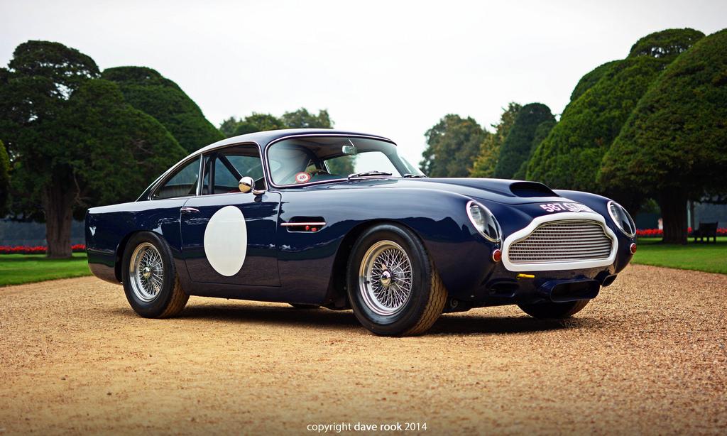 Aston Martin DB4 GT 50 et 60 ans