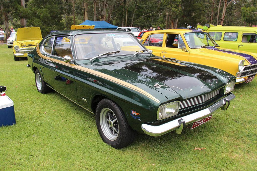 Ford Capri 50 et 60 ans
