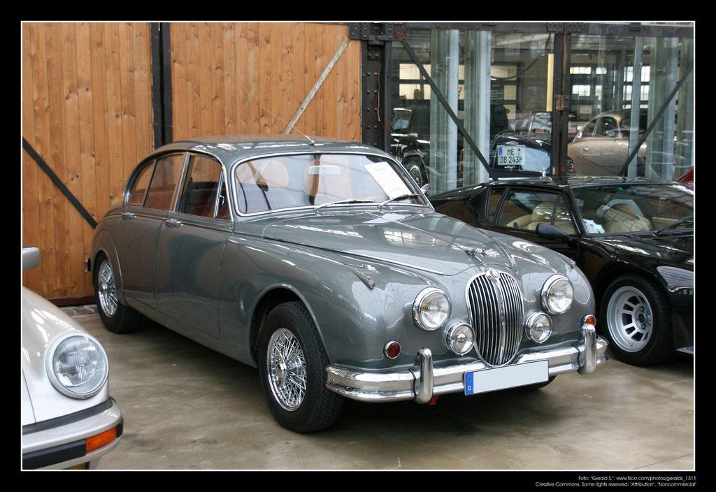 Jaguar MK II 50 et 60 ans