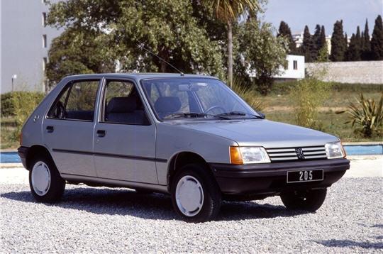 Voiture Peugeot_205