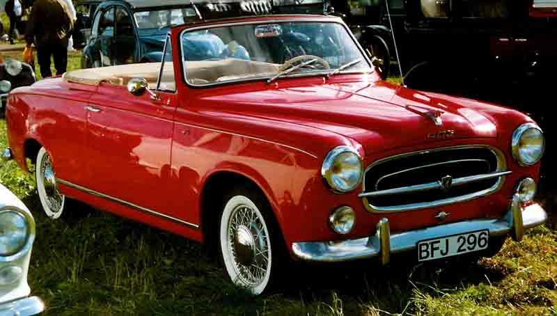 Amoureux des Peugeot 203-403