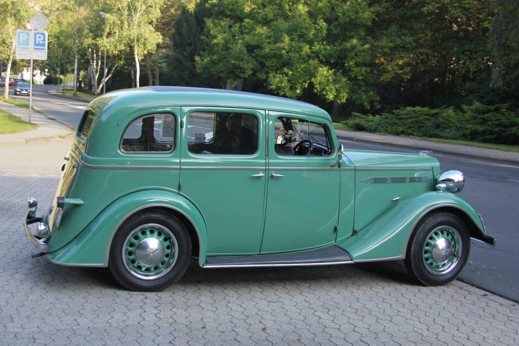 Voiture Vauxhall 1937